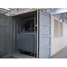 Conjunto de gerador de alta tensão e com transformador (750KVA - 1500KVA)