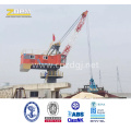 360degree Rotation Single Jib Portal Fixed Crane in Port for Loading