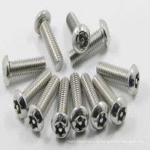 2017 apoyan los tornillos modificados para requisitos particulares de la cabeza de Torx del botón del acero inoxidable con precio de fábrica