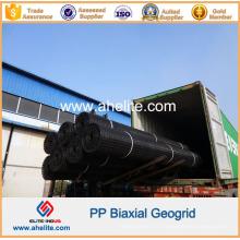 Matériau de construction de route Géogrille biaxiale de polypropylène