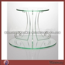 Shaped Carving Table Acrylic Food Stand