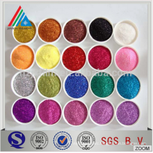 0.01mm---3 mm high quality golden/silver polyester Glitter Powder for printing/decoration