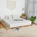 Silber geerdeter leitfähiger Kissenbezug aus Baumwolle zum Schlafen