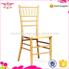 golden chiavari banquet chair