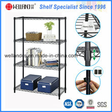 NSF Black Epoxy Coated Metal Wire Rack for Home