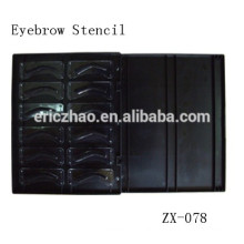 Beginner Permanent Makeup Eyebrow Design Stencil