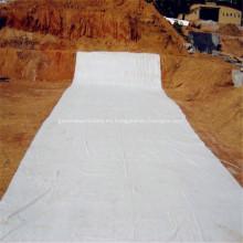 Geotextil no tejido de polipropileno utilizado en puerto / vía fluvial