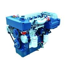 Motor diesel marino del motor marino 100hp con la caja de cambios, motor marino diesel para la venta