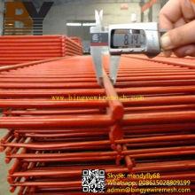 Malla de alambre soldada con doble lazo