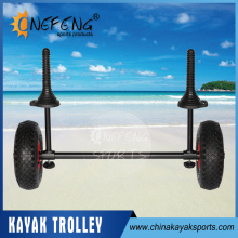 2016 Aluminum Kayak Cart Fishing Canoe Trolley