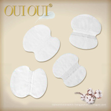 Clean Cotton Disposable Armpit Customized Underarm Sweat Pads