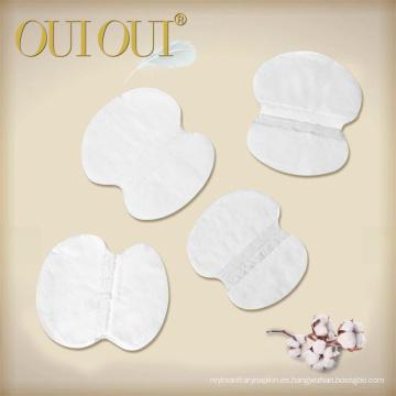 Clean Cotton Disposable Armpit Customized Underarm Sweat Pads