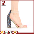 flat woman sandals new design with white tpr outsole