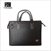 Dropshipping Wholesale Genuine Leather Business Briefcase Men Messenger Bag Laptop Bag