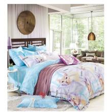 100% algodão reativo impressão novo gato animal design cama set duvet cover set