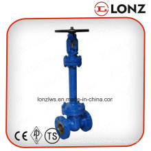 Cast Steel Wcb DIN Standard Bellow Seal Gate Valve