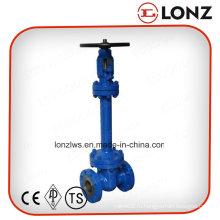 Стальной литейный затвор Wcb DIN Стандартный запорный клапан