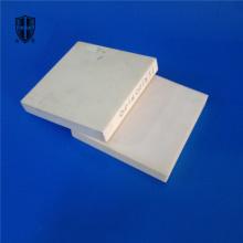 Placa de chapa de cerâmica resistente a alumina 1600C em branco
