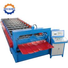 Single Layer Trapezoidal Sheet Roll Forming Machine