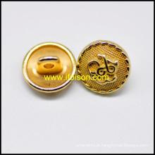 Unifrom do Shank botão cor de ouro