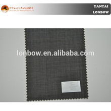 Micro check mens suit fabrics pure wool fabric