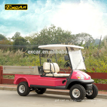 EXCAR 2 plazas de un solo asiento carrito de golf eléctrico precios club golf buggy