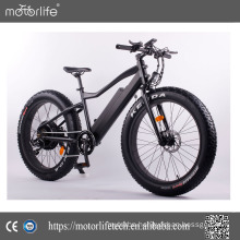 MOTORLIFE/OEM brand manufacture produced 48V 500W new electric bicycle 2017