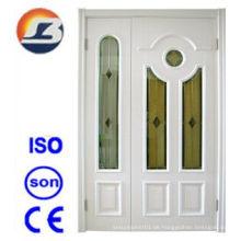 Hochwertige Mutter-Sohn-weiße Meranti-hölzerne Tür