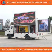 Sino Brand 4X2 Móvel LED Publicidade Caminhão para Venda