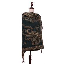 2016 Hot Sale 100% Polyester Echarpe Pashmina d'hiver
