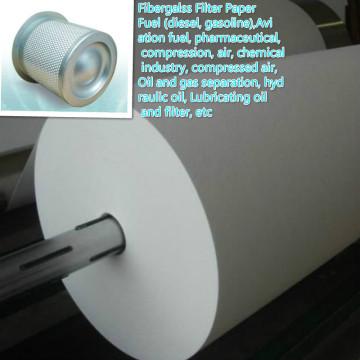Фильтровальная бумага для разделения нефти и газа