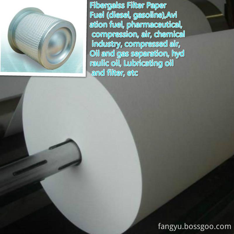 Composite Fiber Glass Filter Paper 5um
