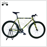 700c 50mm alloy rim triple wall colorful frame fixed gear cycle