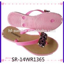Neue Frau PVC Airblowing Strand Schuhe