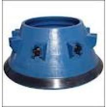 Mantle & Bowl Liners para trituradoras giratorias de Metso