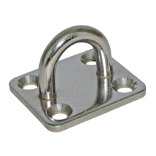 Marine Hardware Industrial Edelstahl Ring mit Spüle Loch Anker Platte