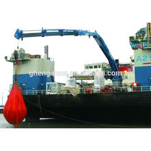 28m 4t Telescopic and folding boom marine Crane