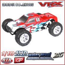 01:10 caminhão de controle remoto nitro do 4WD RTR, carro do brinquedo do rc montado de fábrica na China