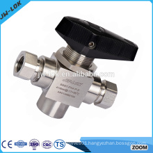 China professional manufacturer 3 way ball valve stainless steel