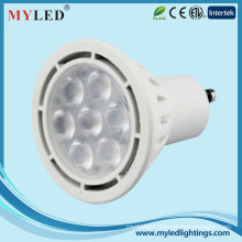 High CRI80 led spotlight intertek led spot dimmable 5w12v 85-265v led lamps