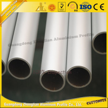Tube en aluminium anodisé de haute qualité / tuyau pour la construction