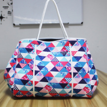 China Gold Supplier for for Beach Bag Printing pattern personalized perforated beach bag supply to Italy Importers
