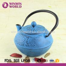 Bule 800ML do ferro fundido do potenciômetro do chá do ferro fundido e costume do LOGOTIPO