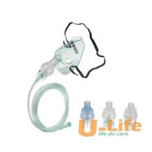 Ensemble de masque nébuliseur d'application médicale