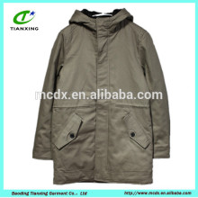 style trench coat for european man