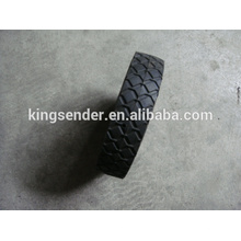 7x1.5 semi-pneumatische Gummirad