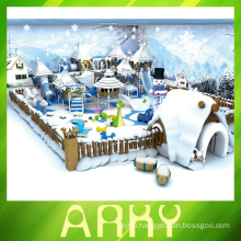 snow and ice series indoor playground for kids game