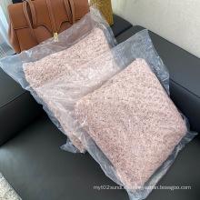 Cojines de sofá de muebles de exterior de lana de poliéster 100%