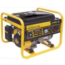 Generador espera del motor de gasolina del uso en el hogar del CE, generador de la gasolina con el CE (1.5kw, 1.7kw) Wh1900