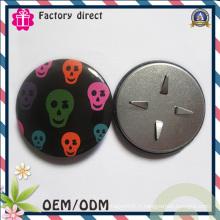 Badge en croûte de fer pour cadeau de promotion de décoration de vêtements